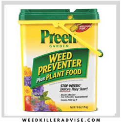 Preen Weed Preventer Weed killer for Flower beds