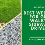 Top 5 Best Weed Killer for Gravel, Walkways, Sidewalks & Driveways in 2021